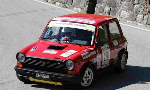 Trofeo A112 Abarth Yokohama: Battistel si impone al Valsugana.