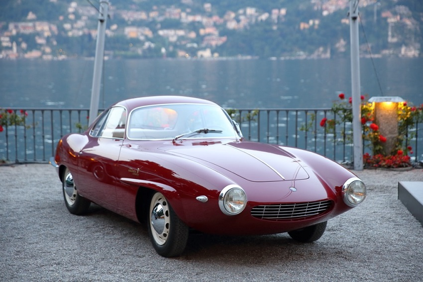 A Villa d'Este il prototipo della Giulietta SS mette d'accordo tutti.