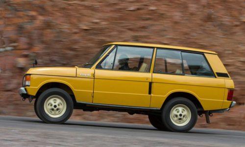 Quarantasette anni fa il lancio dell'iconica Range Rover