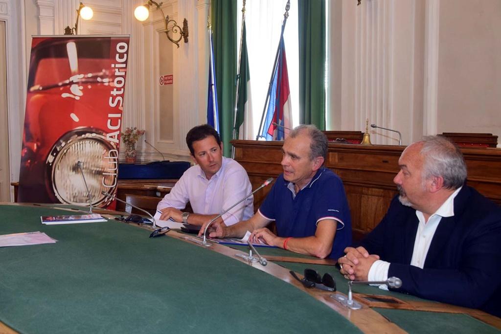Il 7° Rally Lana Storico si presenta alla stampa.