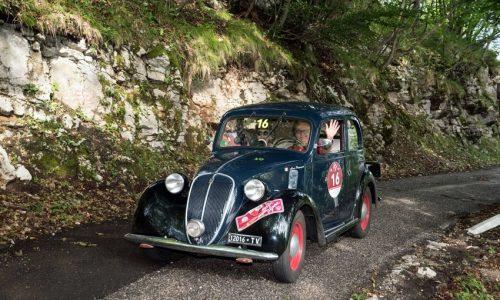 Stella Alpina 2017: Passanante e De Alessandrini portano al successo al loro Fiat 508C del 1938.