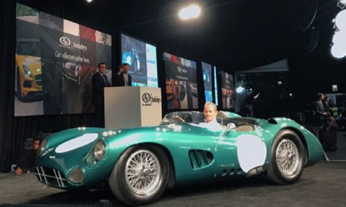 La prima Aston Martin DBR/1 battuta a quasi 20 milioni di euro.