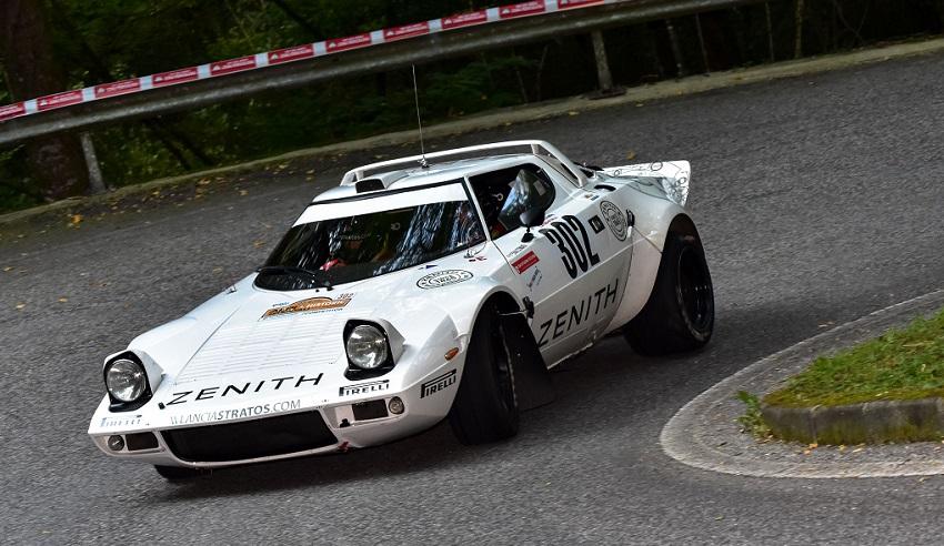 Il 22° Rally Alpi Orientali Historic arride alla Strato's di Comas-Roche.