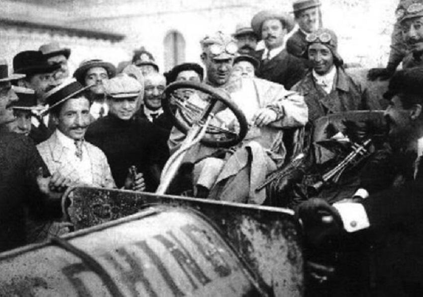110 anni fa il trionfo dell'Itala alla Parigi-Pechino.