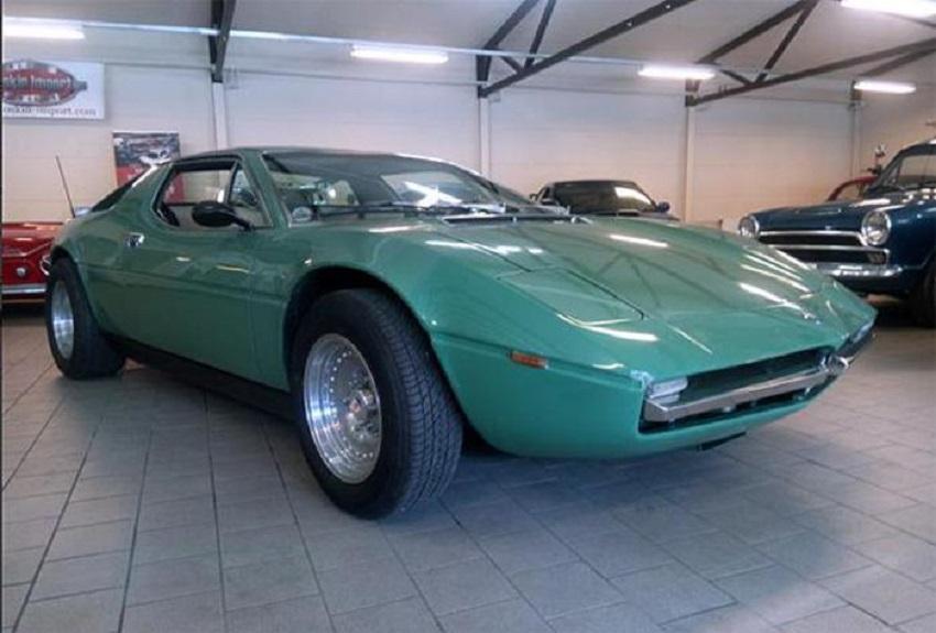 All'asta una Maserati Merak coronata.
