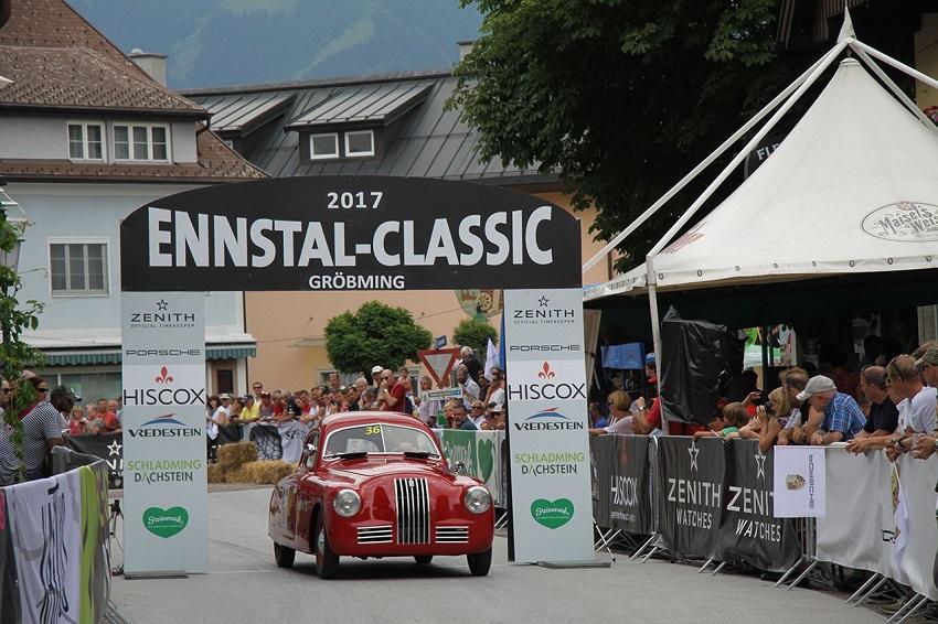 """Fiat 1100 S è """"Best of Show"""" della rassegna Ennstal Classic 2017."""