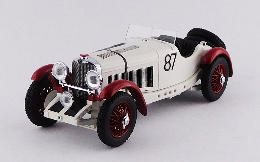 Modellino Mercedes-Benz SSKL del 1931.