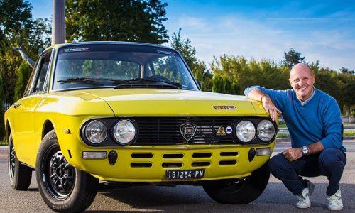 Miki Biasion fa certificare la sua Lancia Fulvia Safari