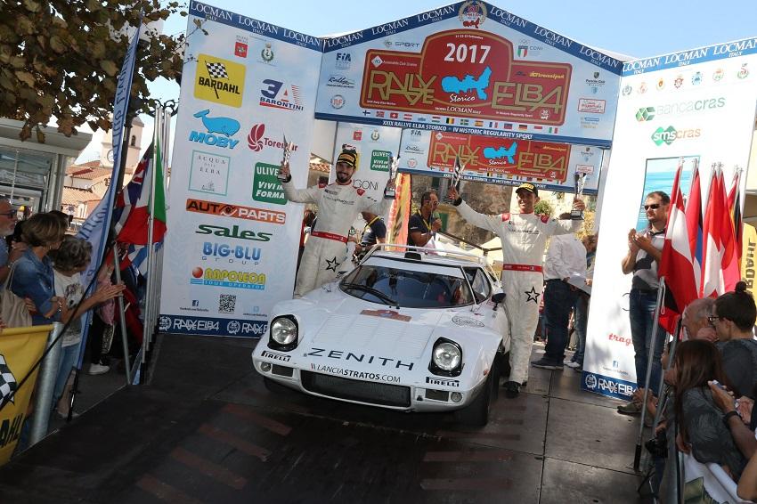 Comas e Roche vincono il Rallye Elba Storico.