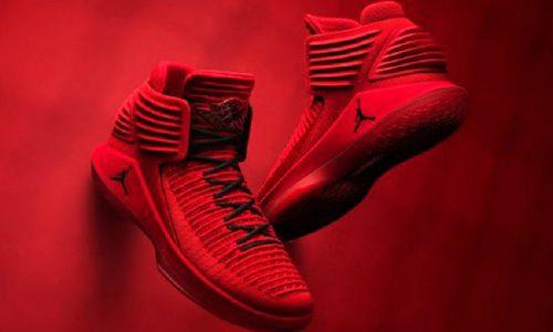 Svelate al Lingotto le scarpe Air Jordan XXXII Rosso Corsa.