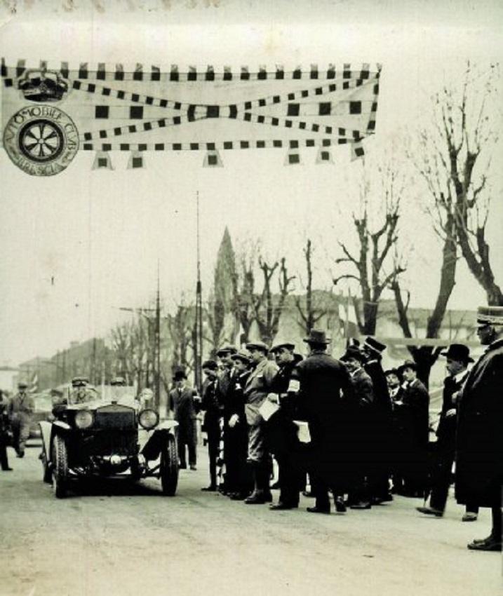 Libro La Prima Mille Miglia 26-27 marzo 1927.