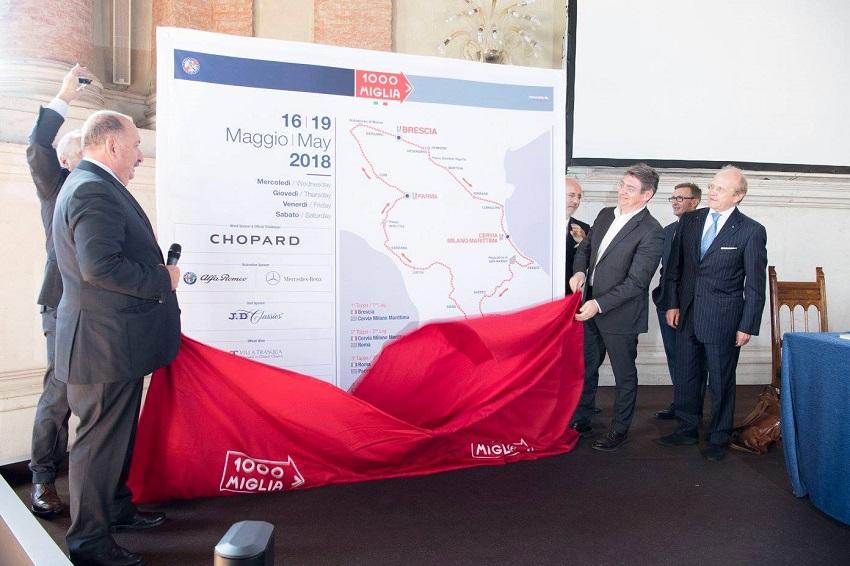 1000 Miglia: presentata l'edizione 2018.