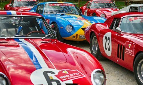 Il Raduno delle Ferrari 250 GTO.