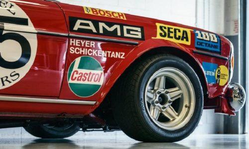 In mostra i 50 anni della AMG-Mercedes.