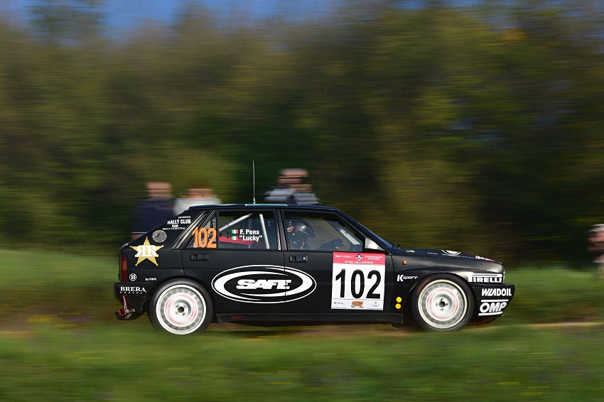 Il Rally Due Valli Historic dominio di Lucky-Pons.