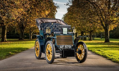"La Fiat più antica del Regno Unito parteciperà alla corsa automobilistica ""London to Brighton Veteran Car Run"""