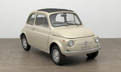 """Fiat 500 entra al MoMA"" e vince il Corporate Art Awards 2017."