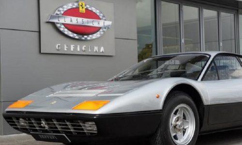 Officine Ferrari Classiche, custodi del patrimonio storico.
