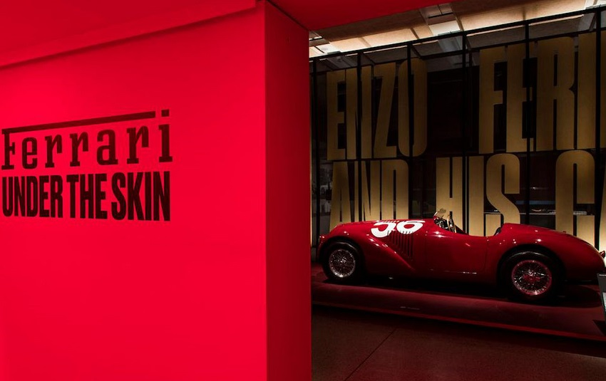 'Ferrari under the skin', Londra s'inchina alla Rossa.