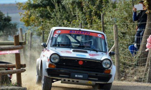 Sei equipaggi al Tuscan per la Coppa A112 Terra.