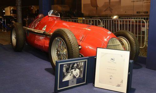 L'Alfa Romeo 158 al FIA Hall of Fame.