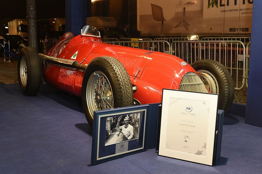 L'Alfa Romeo 158 al FIA Hall of Fame.