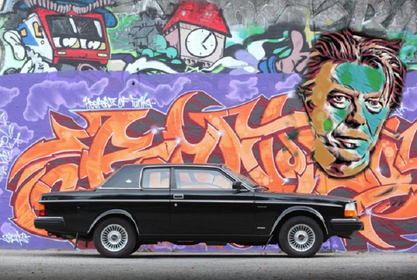 Record per la Volvo 262C Bertone di David Bowie.