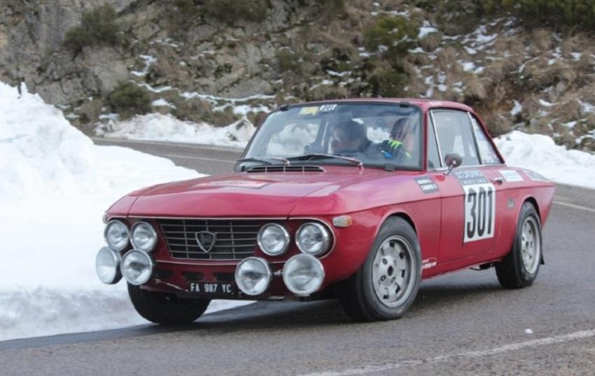 Al Rally di Monte-Carlo sventola la bandiera italiana!