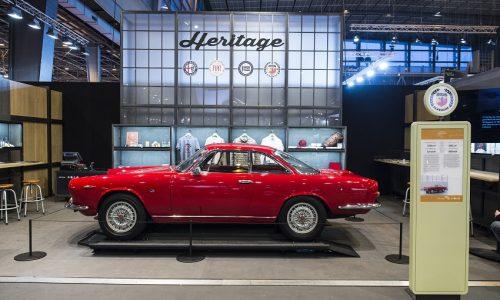Alcuni esempi del meglio della storia del Gruppo Fiat a Techno Classica 2018.