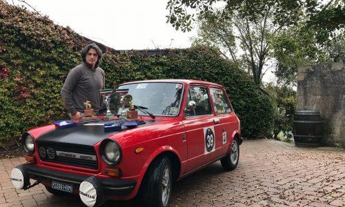 Gianluca e Alessandro Cappella su A112 mettono il sigillo sullo Strade Scaligere Memorial Bruno Zorzi