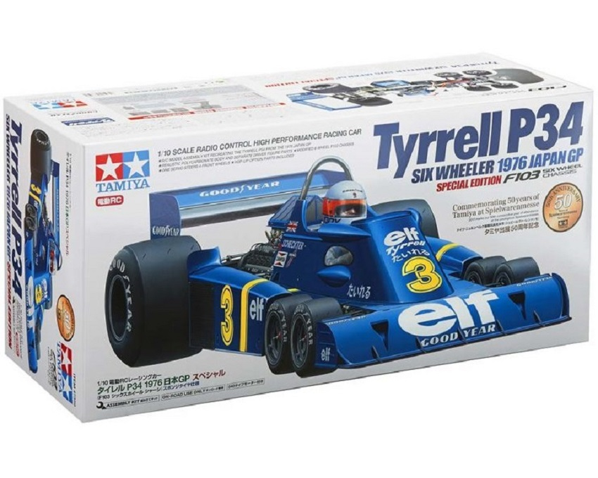 Modellino Tyrrell Sei ruote: alta perfezione e puro divertimento!