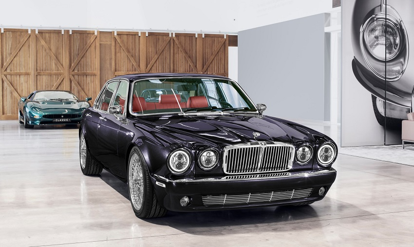 Una Jaguar XJ 3^ serie veramente speciale.