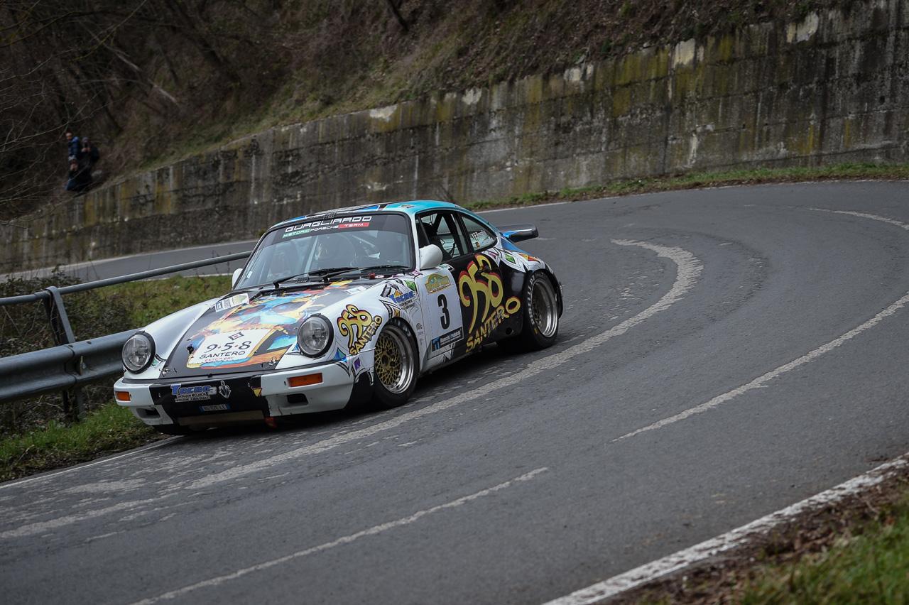Una Porsche 911 sbanca l'8° Historic Rally Vallate Aretine