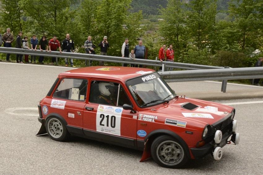Al Valsugana arrivano le A112 Abarth del Trofeo 2018.
