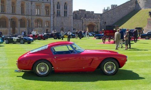 'Ferrari Fever' a Londra per il Concorso di Eleganza.