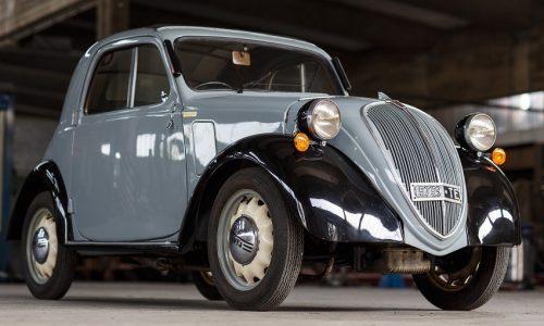 All'asta una Fiat 500 Topolino del 1944.