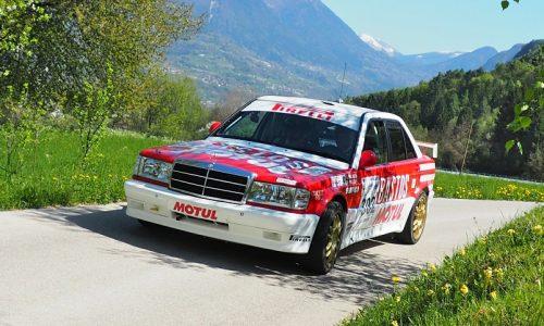 Luchy – Cazzaro calano il poker all'8° Valsugana Historic Rally.