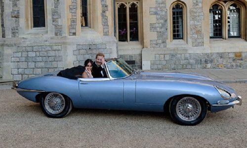 Svelati i segreti della Jaguar E-Type Zero di Harry e Meghan.