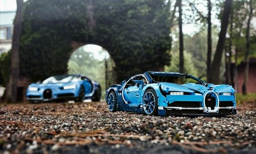 Ecco la Bugatti Chiron alla portata di tutti, è Lego.