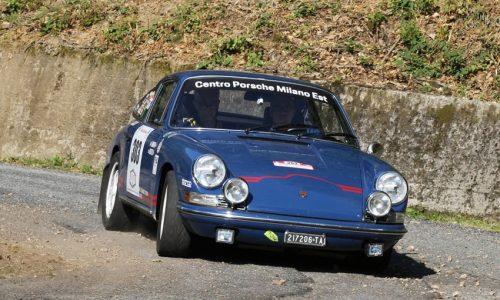 8° Rally Lana Storico: due Porsche trionfano nelle gare di regolarità.