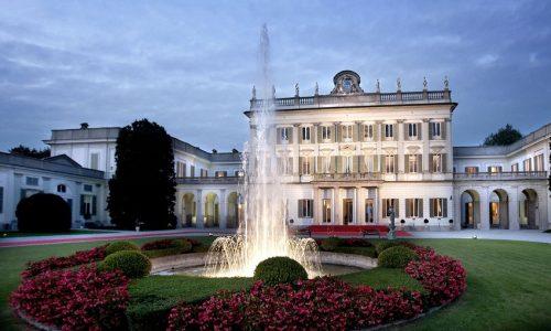 1° Concorso d'eleganza di auto d'epoca a Villa Borromeo, Cassano d'Adda (MI).