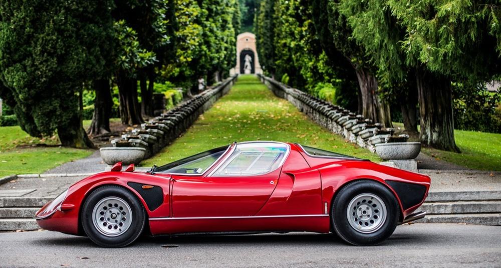 Concorso d'Eleganza Villa d'Este, la Coppa d'Oro 2018 all'Alfa Romeo 33 Stradale.