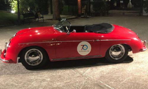 70 Porsche su strade Lazio per i 70 anni della casa di Stoccarda.