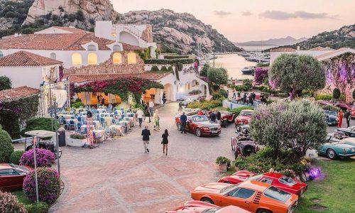 Concorso d'eleganza Poltu Quatu Classic: sole, mare e belle auto.