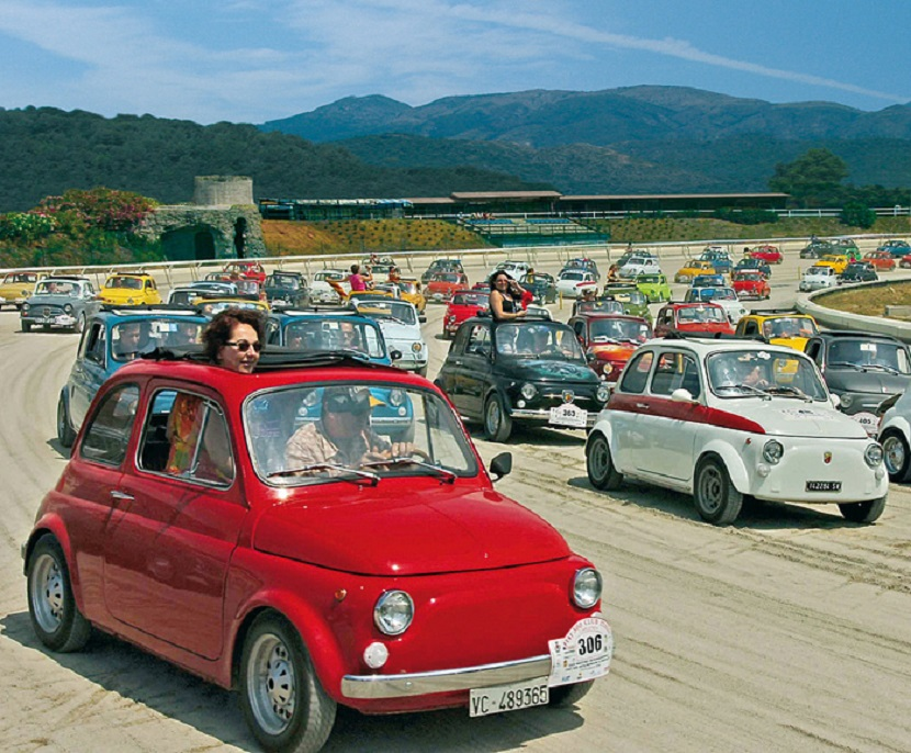 Fiat 500, tutto pronto per il 35esimo meeting di Garlenda