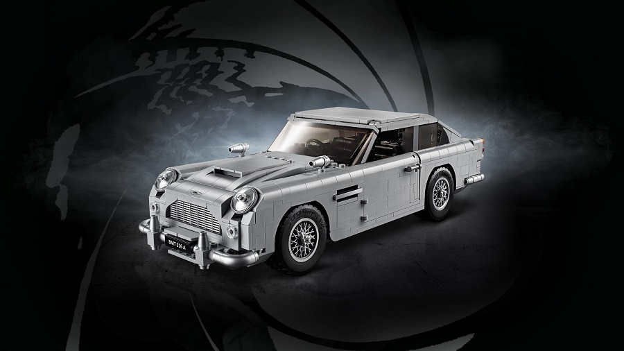 Lego lancia l'Aston Martin di James Bond in mattoncini