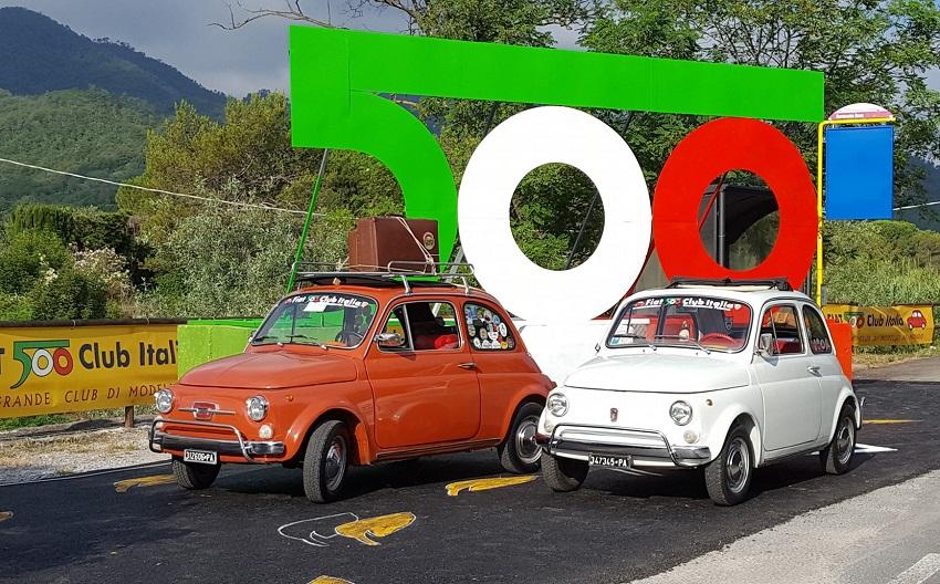 Al 35° Meeting Internazionale di Fiat 500 Storiche oltre ottocento auto.