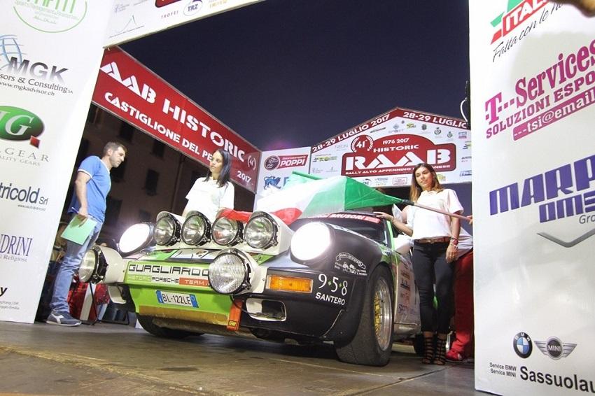 Svelato il percorso del Rally RAAB 2018.