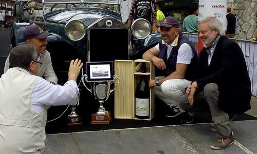 Coppa d'Oro delle Dolomiti 2018, bis di Belometti e Vavassori su Lancia Lambda Casaro del 1929.