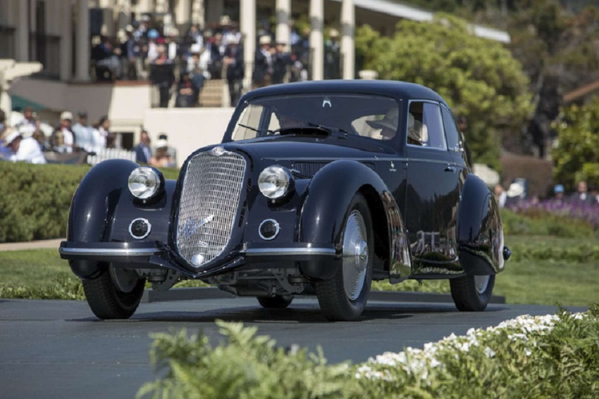 Alfa 8C 2900B Touring del 1937 è Best of Show al Concorso di Pebble Beach